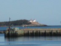 Click to explore our site! Port Bickerton Lighthouse:  From Afar