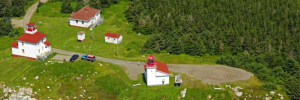 Port Bickerton Lighthouse: Aerial Shot