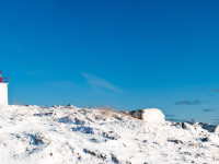 Port Bickerton Lighthouse: Blanket of Snow