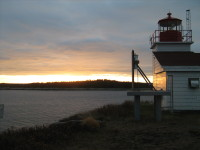 Port Bickerton Lighthouse: Early Light