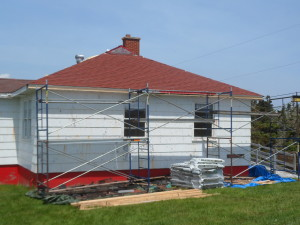 Port Bickerton Lighthouse: Artist in Residence Siding