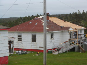 Port Bickerton Lighthouse: Artist in Residence Roofing