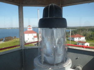 Port Bickerton Lighthouse: The Light